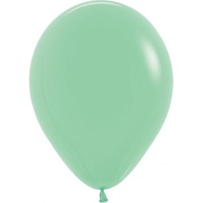 Воздушный шар мятный пастель (30 см)