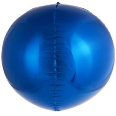 Шар-сфера 3D cиний дон баллон (61 см)