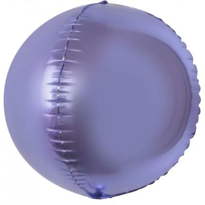 Шар-сфера 3D сиреневый (61 см)