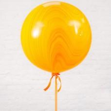 Шар-гигант «№2» оранжевый агат (80 см)