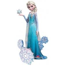 Фольгированный воздушный шар Холодное сердце принцесса Эльза (84 см)