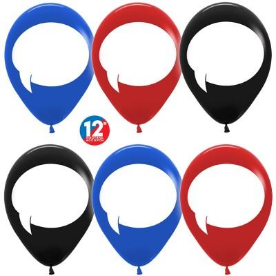 Воздушный шар для надписей ассорти пастель  (30 см)