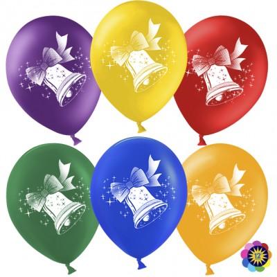 Воздушный шар Колокольчик aссорти пастель (30 см)