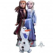 Ходячая фигура Холодное сердце Принцессы и Олаф (147 см)