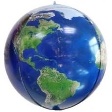 Шар-сфера 3D Планета Земля (61 см)