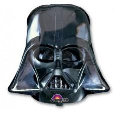 Фольгированный воздушный шар-фигура Звездные войны Дарт Вейдер черный (109 см)