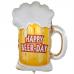 Фольгированный воздушный шар-фигура Пиво в кружке (71 см)