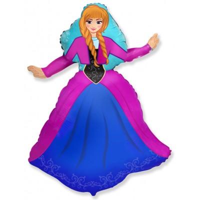 Фольгированный воздушный шар-фигура Принцесса Алексия (99 см)