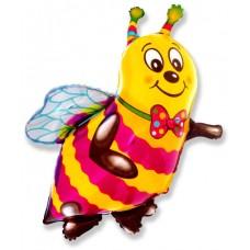Фольгированный воздушный шар-фигура Пчела (97 см)
