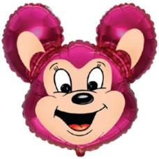 Фольгированный воздушный шар-фигура Могучая мышь фуше (76 см)