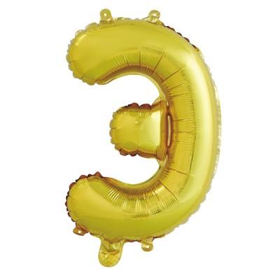 "Шар-буква ""Э"" золотая (41 см)"