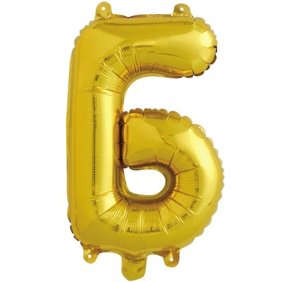 "Шар-буква ""Б"" золотая (41 см)"