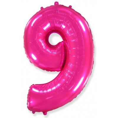 Цифра 9 фуше (102 см)