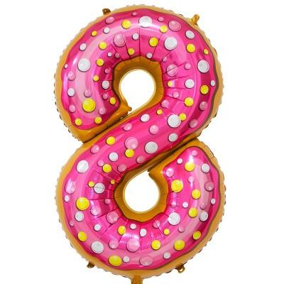Цифра 8 пончик (86 см)