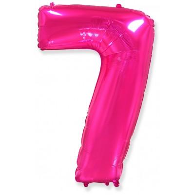 Цифра 7 фуше (102 см)