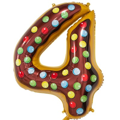 Цифра 4 пончик (86 см)