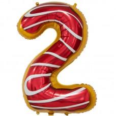 Цифра 2 пончик (86 см)