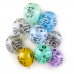 Воздушный шар Твой День Рождения прозрачный кристалл (30 см)