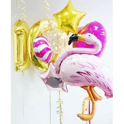 Композиция Розовый Фламинго № 611