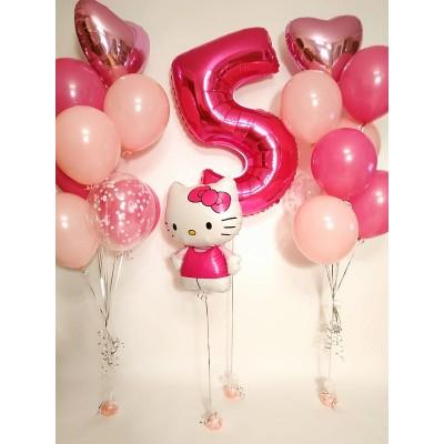 Композиция На День Рождения Hello Kitty