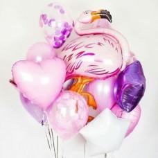 Композиция Розовый Фламинго