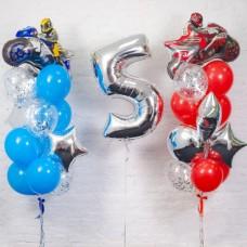 Композиция День рождения Мальчика Мото