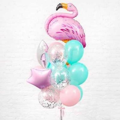 Композиция Очаровательное Фламинго