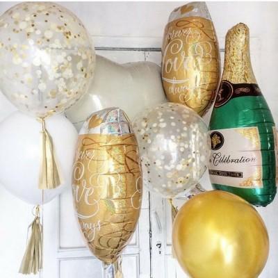 Композиция Набор шаров Шампанское