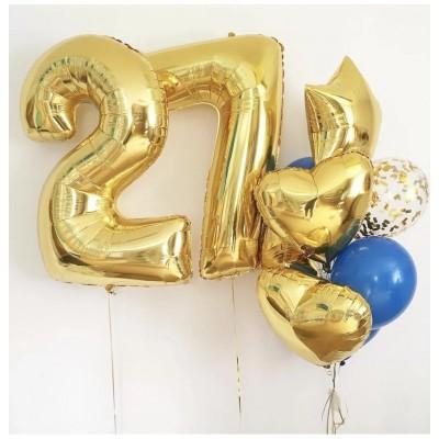 Композиция Набор шаров с цифрой №53