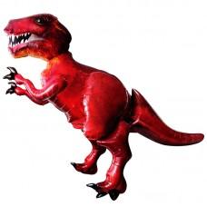 Ходячая фигура Динозавр красный (173 см)