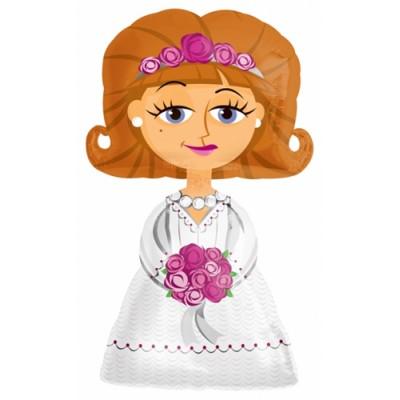 Ходячая фигура Невеста (122 см)