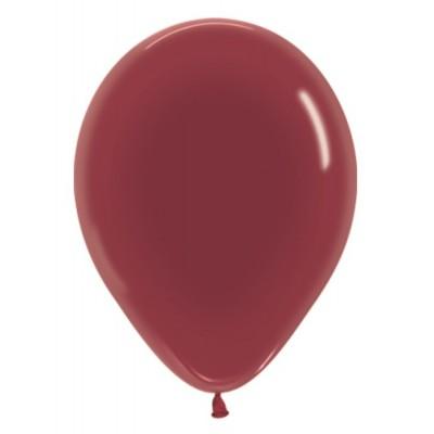 Воздушный шар бургундия кристалл (30 см)