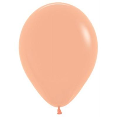 Воздушный шар персиковый пастель (30 см)