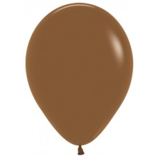 Воздушный шар кофе пастель (30 см)