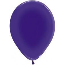 Воздушный шар фиолетовый кристалл (30 см)