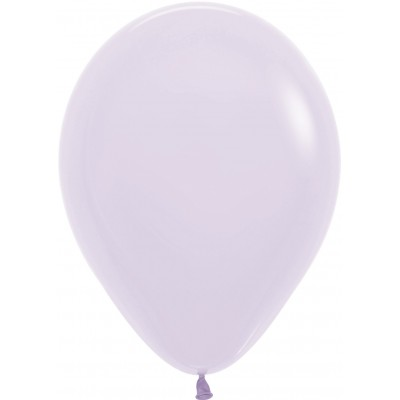 Воздушный шар Макарунс светло-сиреневый пастель (30 см)