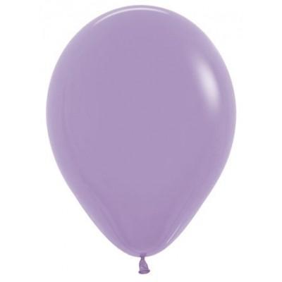 Воздушный шар сиреневый пастель (30 см)