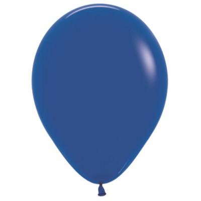 Воздушный шар синий пастель (30 см)