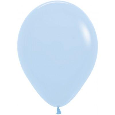 Воздушный шар Макарунс нежно-голубой пастель (30 см)