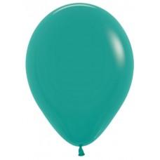 Воздушный шар зеленая бирюза пастель (30 см)