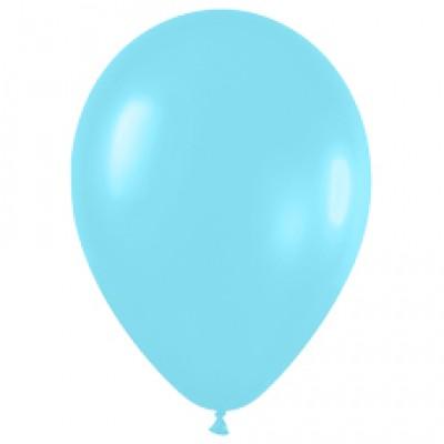 Воздушный шар карибская синева перламутр (30 см)