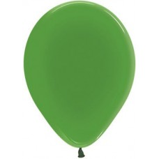 Воздушный шар зеленый кристалл (30 см)