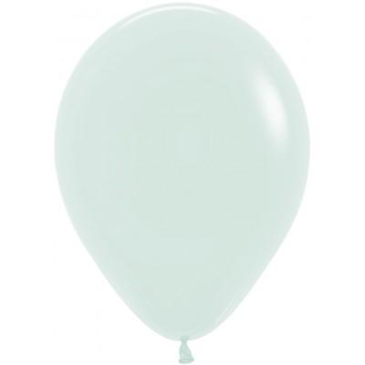 Воздушный шар Макарунс светлая мята пастель (30 см)