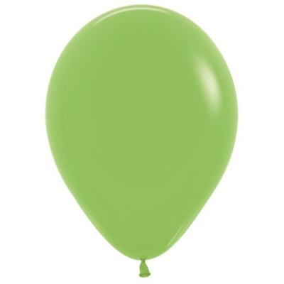 Воздушный шар лайм пастель (30 см)