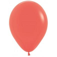 Воздушный шар коралловый пастель (30 см)