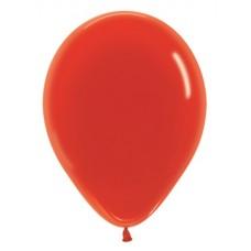 Воздушный шар красный кристалл (30 см)