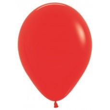 Воздушный шар красный пастель (30 см)