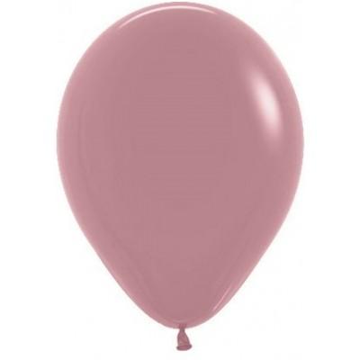 Воздушный шар розовое дерево пастель (30 см)