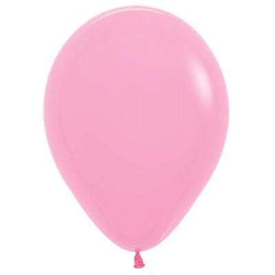 Воздушный шар розовый пастель (30 см)