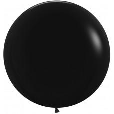 Большой шар черный пастель